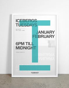 M35 | Icebergs Tuesdays #poster