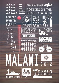 Southern Africa travel infographics Art and design inspiration from around the world