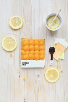 Choose your color | Griottes, palette culinaire #color #orange #pantone #food