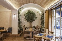 Italian Restaurant Inspired by the Amalfi Coast / Barea+Partners