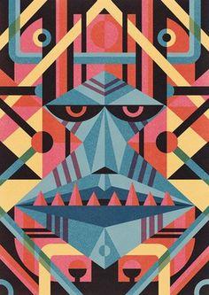 Blogoliolio #illustration #geometric