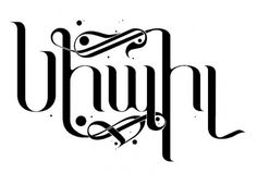 Armenian Typography | Flickr - Photo Sharing! #handdrawn #armenian #turkish #ornamental #custom #type #typo #typography