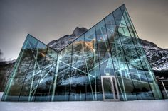 CJWHO ™ (The new visitor center in Trollveggen, Norway by...)