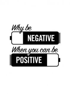 NEGATIVE - POSITIVE #white #icon #design #black #positivity #and