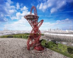 CJWHO ™ (ArcelorMittal Orbit, by Anish Kapoor @Olympic Park) #sculpture #installation #london #design #photography #kapoor #art #anish