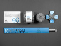 KnitYou Brand ID on Behance #knit