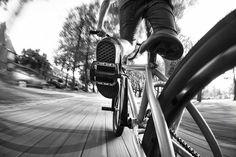 BMX, speed, fisheye