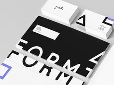 Formt Identity by Joost Huver - www.formt.net #identity #editorial