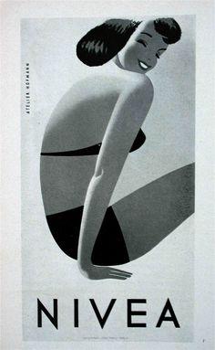 Nivea Girl #woman #girl #body #nivea #illustration