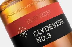 Logo, custom typeface, exhibition design and packaging by Manual for The Clydeside Distillery