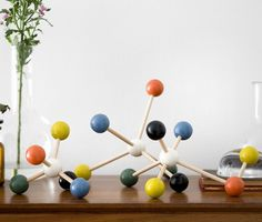 Ferm Living Decorative Molecules by: Ferm Living - Huset-Shop.com | #molocule