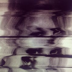 ntngnw.tumblr.com #white #girl #photo #black #photography #glitch #scan