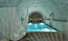 Thermalbad & Spa in Zurich #spa #design