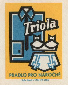 All sizes | czechoslovakian matchbox label | Flickr Photo Sharing! #illustration
