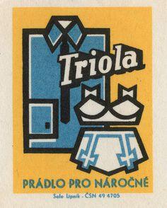All sizes | czechoslovakian matchbox label | Flickr Photo Sharing! #illustration