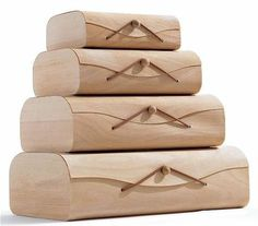 Storage: Birch Storage Boxes at CB2 : Remodelista #birch #storage