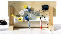 © juliapeintner.com re-mech #arduino #drawing #machine #mechanics