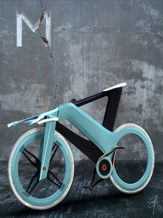 The Collective Loop #bikes #blue #futuristic #mooby