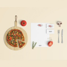 Restaurant stationery mock up Free Psd. See more inspiration related to Mockup, Food, Template, Restaurant, Pizza, Presentation, Stationery, Mock up, Mockups, Up, Scene, Editable, Realistic, Custom, Mock ups, Mock, Customize, Ups and Customizable on Freepik.