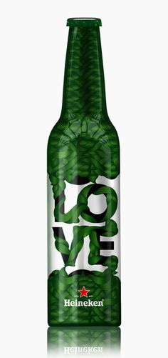Heineken Trafiq Limited Edition — The Dieline #packaging #beer #bottle