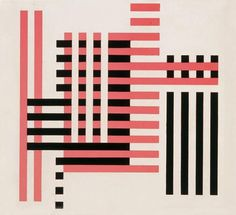 Tate Modern| Past Exhibitions | Albers and Moholy-Nagy: From the Bauhaus to the New World #paint #red #glass #geometry #black #joseph albers