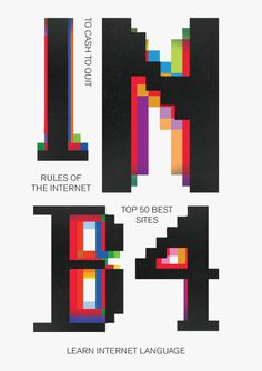 INB4 #ms-dos #color #pixel #cover #internet #typography