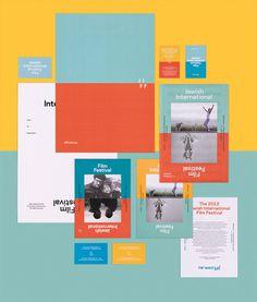 Round Jewish Film Festival Identity 001 #identity #posters