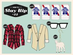 Design- stay hip #pbr #how #plaid #illustration #hip #stay #flannel #to