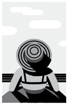 Illustration by Christopher Monro #illu #illustration
