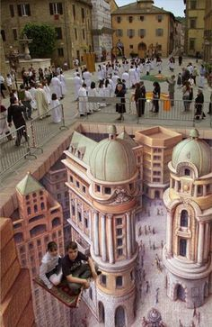 30 Examples of 3D Street Art