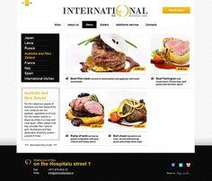 International restaurant on the Behance Network