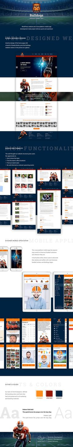 American Football Team Website and Sports Mobile App Development https://mobilunity.com/portfolio/sports-mobile-app-and-website/
