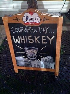 Google Image Result for http://www.kegworks.com/images/blogpost/soupOfTheDay.jpg #lifestyle #alcohol #soup #whiskey