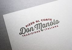 Don Manolo #brand #identity #branding #pizza