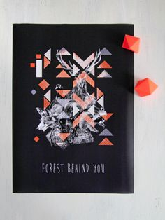 forest behind you poster