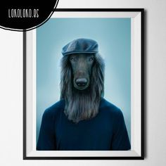 #animals #clothe#fashion #hipster #dog #poster