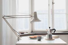 The Inspiration Archive – collected by Teodorik #interior #white #breakfast #home #bialetti #coffee #light