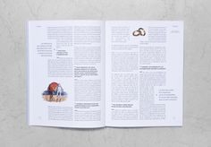 Influencia nxc2xb08 #book #grid #spread #typesetting #type #layout #magazine
