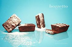 XMAS 12 by Bozzetto on Behance #chocolate #banana #nuts