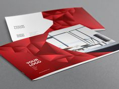 Interior Design Brochure. Download here: http://graphicriver.net/item/interior-design-brochure/6913774?ref=abradesign #pattern #red #modern #catalog #print #gradient #template #3d #brochure