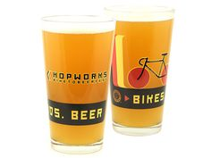 Beer Glassware | Taphandles | Branding services and products that SELL MORE BEER: taps, signs, logos #glass #beer