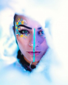 Colorful Female Portrait Photography by Shani Varner