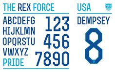 usa_home #numbers #usa #typeface #custom