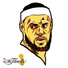 NBA Finals 2014 Sketches on Behance #heat #lebron #illustration #cavs #cleveland #nba #basketball #miami