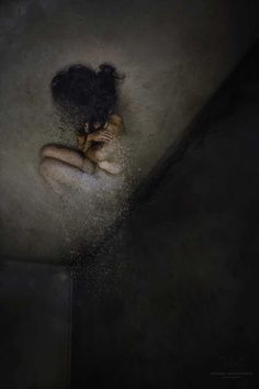 The Dark Room: Fine Art and Melancholy Portrait Photography by Victoria Krundysheva