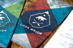 Graphic-ExchanGE - a selection of graphic projects #logo #business card #ursa major #card #personal