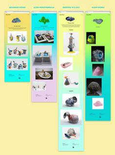 Joey Watson Website on Behance