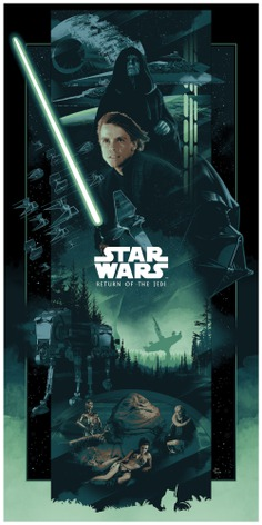 Star Wars Trilogy Posters by John Guydo May the 4th be with you