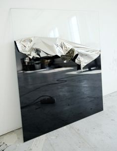 Ad augusta per angusta #reflex #mirror #window #glas #foil