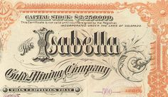 StockCertificate_2 #design #vintage #typography